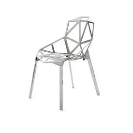 Polished Chrome ''Chair one'' Chair