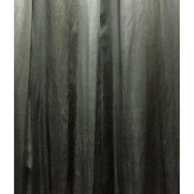 "Pair Drapes 13'3"" x 8' Grey Aged / Faded Satin"