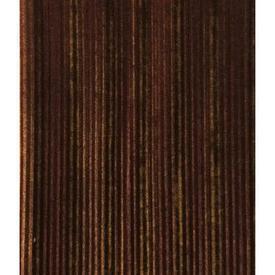 Pair Drapes 11' x 6' Brown Stripe Plush
