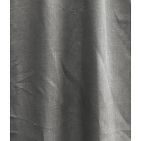 "Pair Drapes 10' x 4'6"" Grey Linen"