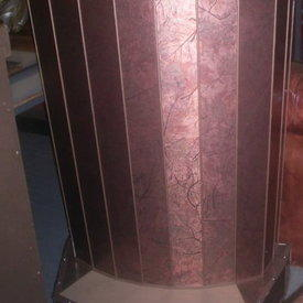 Dm Curved Tobacco Lectern