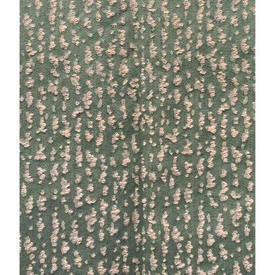"Pair Drapes 3'6"" x 4' Sea Mottled Faded Weave"