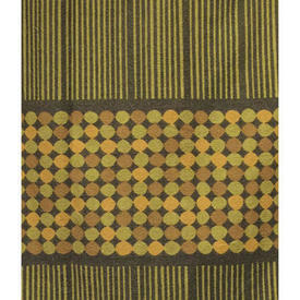 """Pair Drapes 3'9"""" x 4' Olive Heal's Abacus Spot Stripe"""