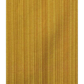 "Pair Drapes 3'5"" x 4' Mustard Stripe Textured Weave"