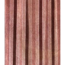 Pair Drapes 4' x 6' Dusky Stripe Cut Velvet