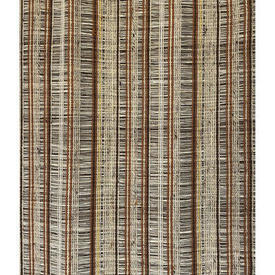 "Pair Drapes 4'4"" x 3'3"" Tan Stripe Vision"
