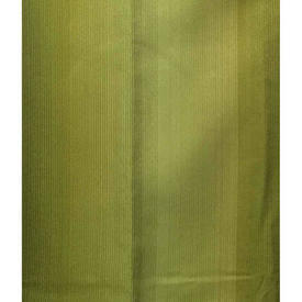 "Pair Drapes 4'3"" x 3'6"" Olive Silky Stripe Weave"