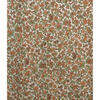 """Pair Drapes 4'6"""" x 4' Ginger Tiny Floral Sateen"""