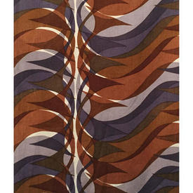 """Pair Drapes 4'6"""" x 6' Chestnut Hull Traders Sigma Wave"""