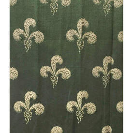 "Pair Drapes 4'9"" x 6' Sea Feather Damask"