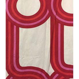 """Pair Drapes 5'6"""" x 10' Red Heal's Perimeter Large Circ Print"""