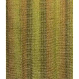 "Pair Drapes 5'9"" x 4' Olive Silky Stripe Weave"