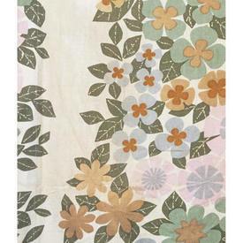 "Pair Drapes 6'3"" x 4' Sage Heal's Banbury Floral Print"