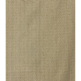 "Pair Drapes 6'9"" x 5'4"" Beige Chevron Textured Heavy Weave"