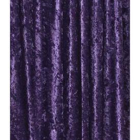 Pair Drapes 7' x 10' Purple Crushed Panne Velvet