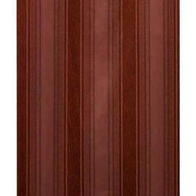 "Pair Drapes 7' x 7'10"" Chestnut Silky Stripe"