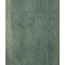 "Pair Drapes 7'3"" x 3'9"" Sea Abstract Floral Cut Chenille"