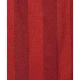 "Pair Drapes 7'6"" x 4' Red Stripe Weave"