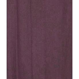 "Pair Drapes 7'6"" x 5' Purple Linen (Loop Tops)"