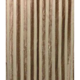 Pair Drapes 8' x 8' Tan Stripe Cut Plush Sale 120.00 ea