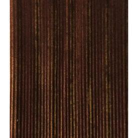 """Pair Drapes 8'3"""" x 8' Brown Stripe Plush"""