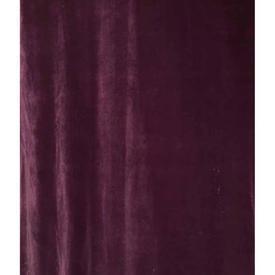 "Pair Drapes 8'3"" x 4' Purple Faded Velvet"