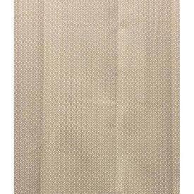 "Pair Drapes 8'3"" x 6' Sand Gamma Small Lattice Print Cotton Sale 55.00 ea"