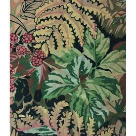 "Pair Drapes 8'3"" x 12' Bottle Liberty Oberon William Morris Floral"