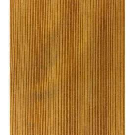 "Pair Drapes 8'9"" x 6' Mustard Thin Stripe Print Velvet"