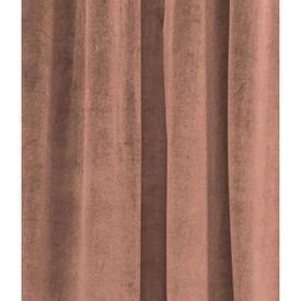 """Pair Drapes 9'3"""" x 8' Terracotta Velvet"""