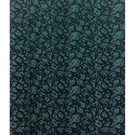 "Pair Drapes 9'9"" x 4' Teal Small Abstract Mottled Jacquard"