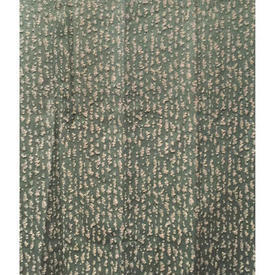 "Pair Drapes 9'9"" x 4' Sea Mottled Faded Weave"