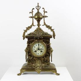 Brass Decorative Mantle Clock