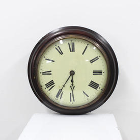 "32Cm Circ ""Fusee"" Convex Wall Clock with Glass Face"