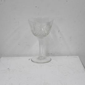 15Cm Cut Glass Red Wine Glass