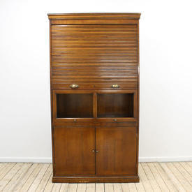 3' Fruitwood French Provincial Centre Bookcase/Office Unit