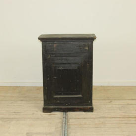 2'10  x  2Ft Hardwood Single Door & Drawer Cabinet