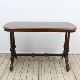"3'9"" Burr Walnut Side/Centre Table"