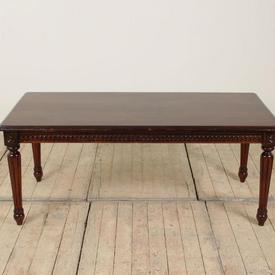 4' x  2' Mahogany Victorian Style Coffee Table