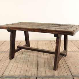 """5' x  2'9"""" Rustic Wooden Garden Table"""