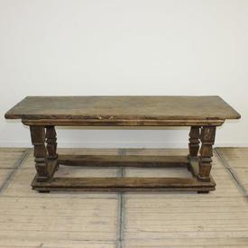 "6'3"" x  2' Square Leg Rustic Dining Table"