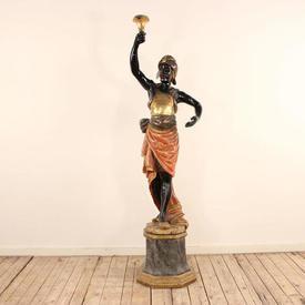 Blackamoor Figure on Stand