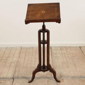 Rosewood ADjustable Height Music Stand