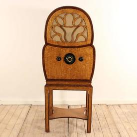 """Walnut 1930S Dummy 4'5""""  Radiogram"""