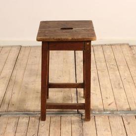 2' Wooden Stool