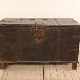 "3'8"" x  2'3""  Hardwood Studded Chest with Top Door"
