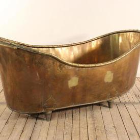"5'7"" Brass Bath"