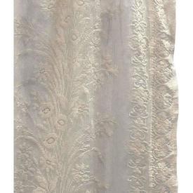 """Pr Nets 2'6"""" x 5' Buttermilk Floral Lace"""