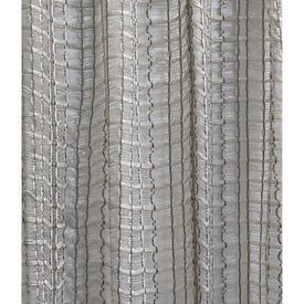 "Pr Nets 2'9"" x 4' Ivory / Beige Stripe Woolly Vision"