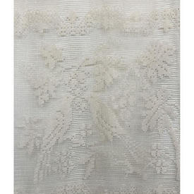 Pr Panels 3' x 2' Ivory Birds in Branches Lace